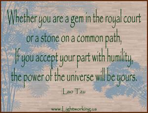 Lao Tzu, THE WAY OF LIFE