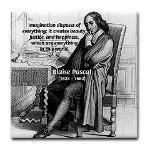Mathematics: Blaise Pascal Tile Coaster