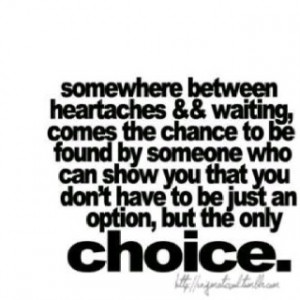 Never be an option...or second best. Omg I love this