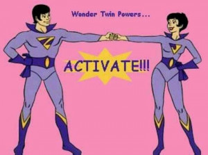 Wonder Twin Powers... Activate!