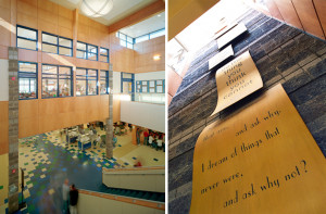 ALSC Architects | Eastmont Junior High School, Commons Quotes