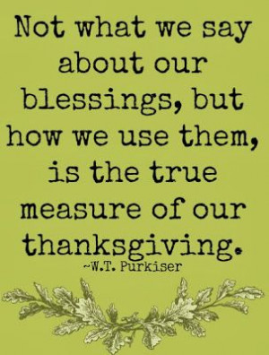 Great Quotes on Gratitude & Thanksgiving