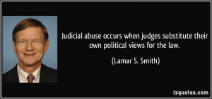 More Lamar S. Smith Quotes