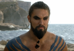 ... Khal Drogo was sexier somehow, but Jason Momoa does a damn good Drogo