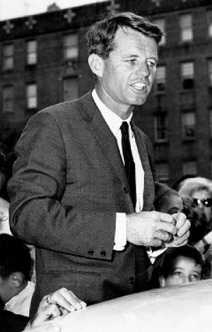 Bobby Kennedy's dream of a black president comes true after four ...
