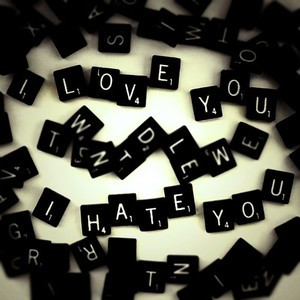 love you i hate you emo quote and words image text