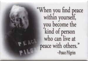 FM043 - Peace Pilgrim quote