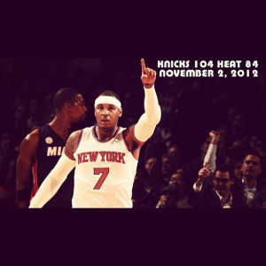 Basketball Quotes Carmelo Anthony Carmelo and novak to the bank.