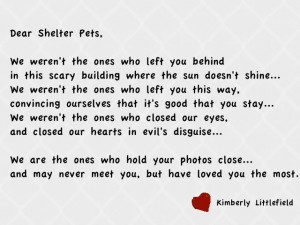 Animal Adoption Quotes Poems http://picsbox.biz/key/animal%20rescue ...