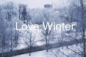 Winter Tumblr Quotes Love winter