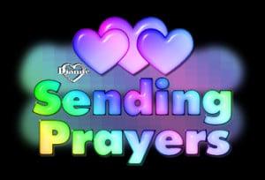Sending Prayers.