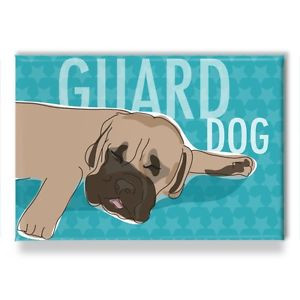 ... -Gifts-Refrigerator-Magnets-with-Funny-Sayings-Sleeping-Guard-Dog