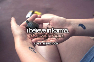 Believe-in-karma