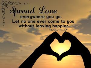 Spread Love Love Poems