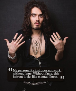Russell Brand being funny - russell-brand Photo
