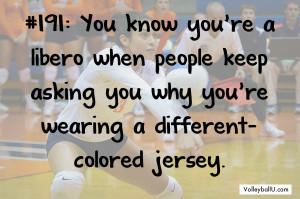 Volleyball Sayings For Liberos Libero 191