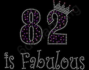 A082 Happy 82nd Birthday 082-07