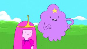 Princess Bubblegum and Lumpy Space Princess in