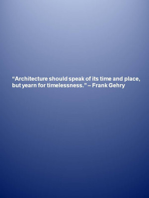 Great architecture quotes