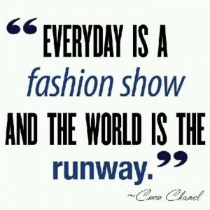 Coco Chanel #quotes: Chanel Quotes, Coco Chanel, Fashion Show, Dresses ...