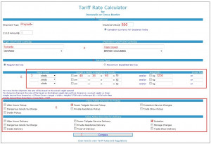 with no account help on rate quote how to submit a tariff rate quote