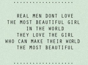 cute, love, quote, real men