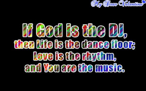 Funny-love-quotes-If-God-is-the-DJ