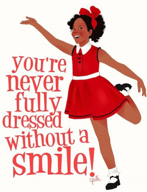 ... for Quvenzhane Wallis in her upcoming role as the little orphan Annie