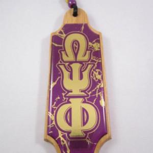 Omega Psi Phi Domed Tiki