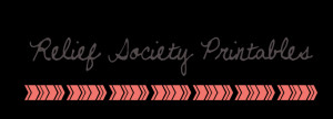 Labels: Relief Society