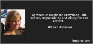 quote from Shawn Johnson