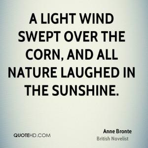 Anne Bronte Nature Quotes