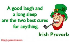 irish proverb picture quotes laugh picture quotes sleep picture quotes ...