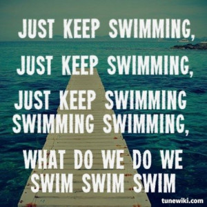 Swim wall quotes quotesgram for Swimming pool quotes