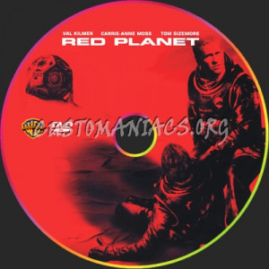 Red Planet DVD Cover