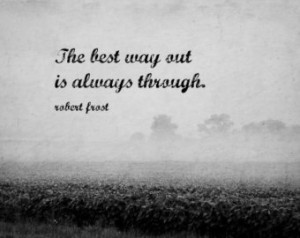 Robert Frost Print Poet Quote Black White Nature Photography Writer ...