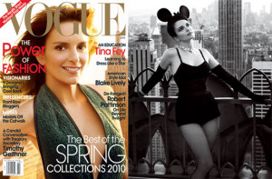 Photos and Quotes From Tina Fey in Vogue Magazine