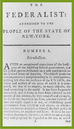 federalist essays summaries The federalist papers were written to explain why people should approve of the us constitution antifederalists states what did the antifederalists believe.