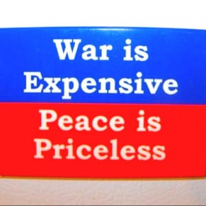 War and peace don't coexist