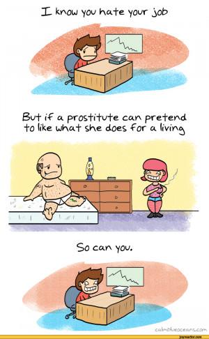 Job / calmblueoceans :: job :: hate :: comics (funny comics & strips ...