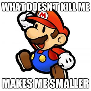 Super Mario Bros. Inspirational Quotes