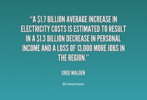 billion average increase in electricity costs is estimated to ...