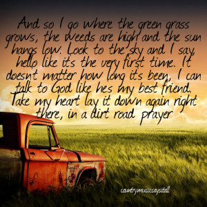 Inspirational Country Songs About Life