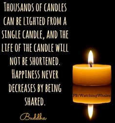 candle quote via www facebook com more candles quotes quotes words 1