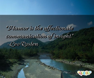 Affectionate Quotes