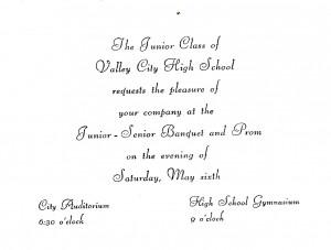 Junior Year Quotes Junior-senior banquet and prom