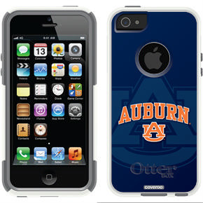 Auburn design on OtterBox® Commuter Series® Case for iPhone 5s / 5