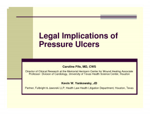 Pressure Ulcer Documentation