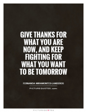 quotes about fighting for what you want
