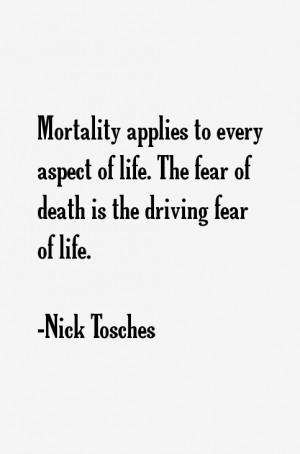 Return To All Nick Tosches Quotes